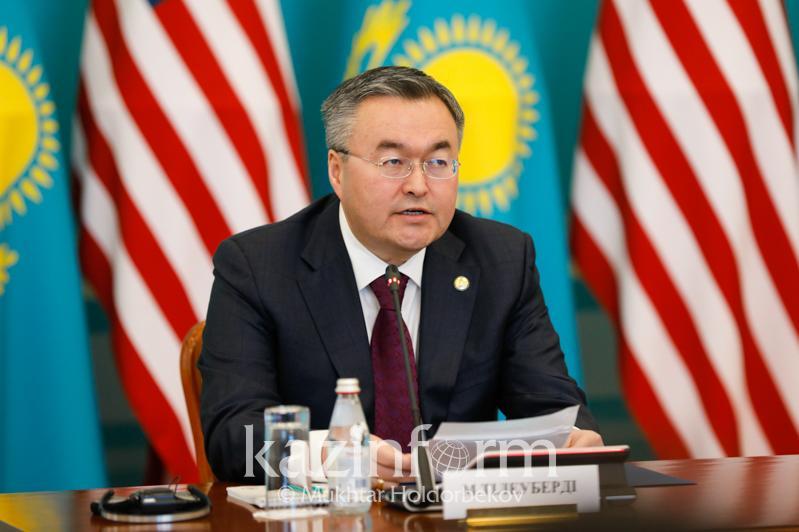 О развитии сотрудничества между Казахстаном и США рассказал Мухтар Тлеуберди