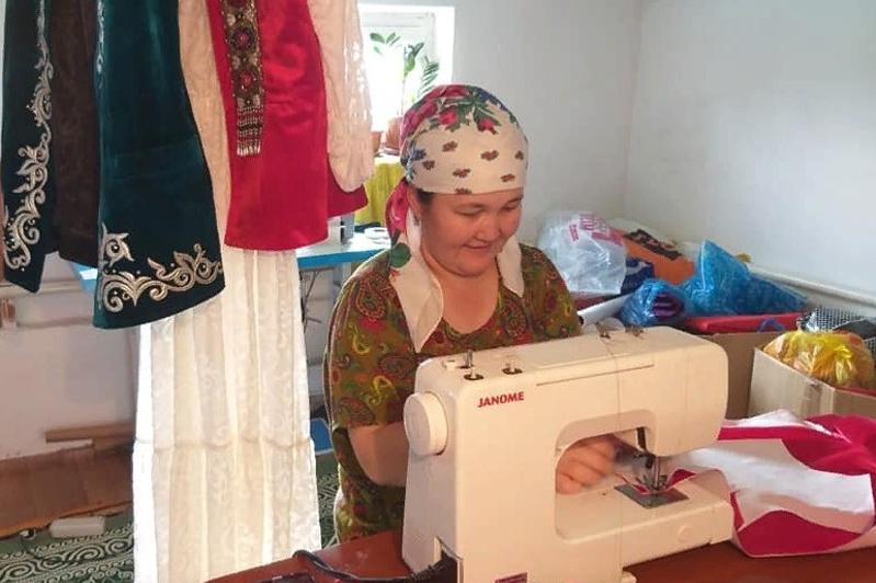 Түркістан облысында көпбалалы отбасылар АӘК қаржысына кәсіп ашуда