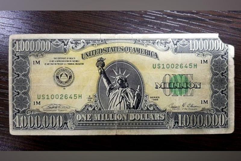 Өзбекстанда миллион долларлық банкнотты сатпақшы болған адам ұсталды