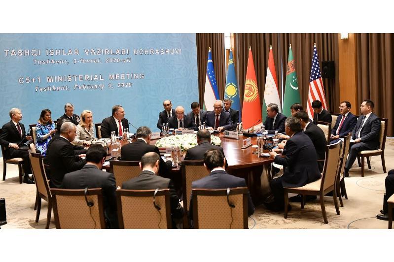 Ташкентте «C5+1» қатысты бірлескен мәлімдеме қабылданды