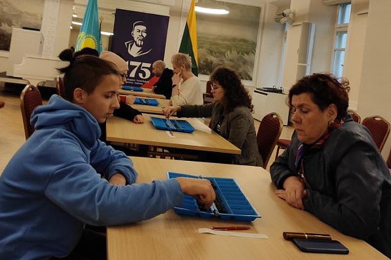В Литве прошли соревнования по тогызкумалаку в честь 175-летия Абая