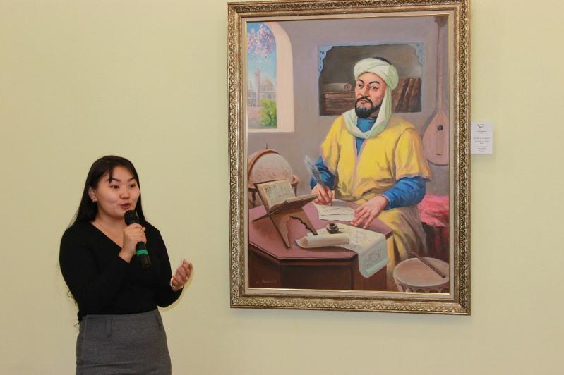 东哈州艺术博物馆举行阿尔-法拉比诞辰1150周年特别展览