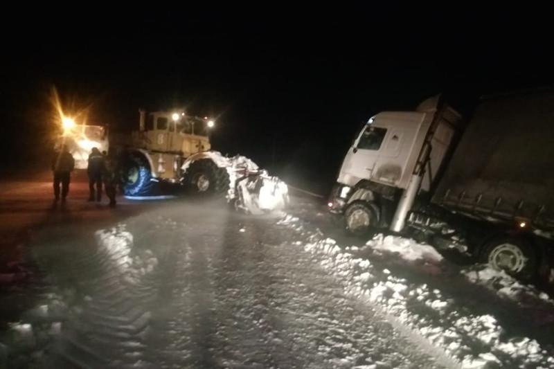 Горячую линию на период снегопадов и морозов открыли в Северо-Казахстанской области