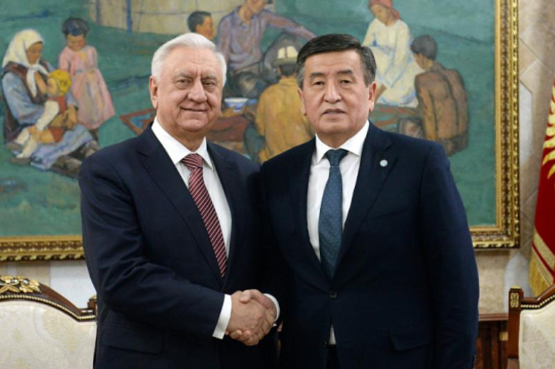Eurasian Economic Commission head meets with Kyrgyzstan leadership