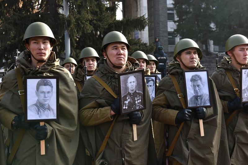 В Казахстане стартовала Эстафета памяти «Мы – наследники Победы!»