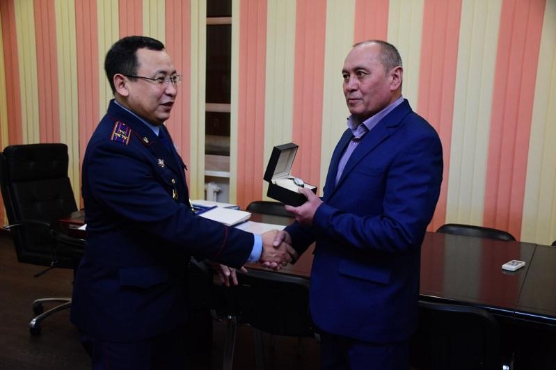 Поймать преступника помог ветеран органов внутренних дел в Карагандинской области