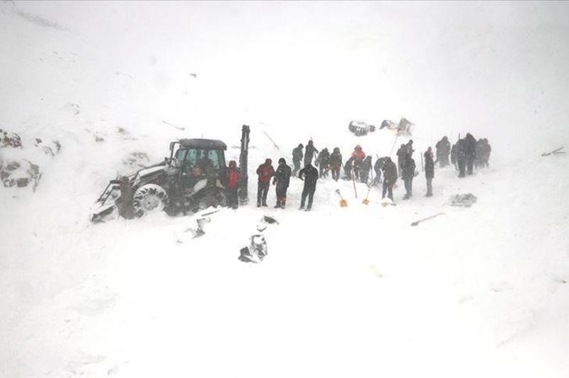 Turkey: Avalanche buries search team, 33 killed