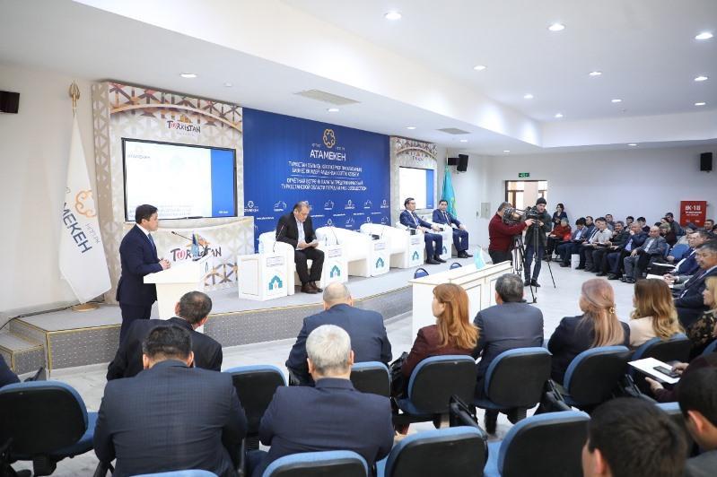 Түркістан облысы - бизнес нысандарының саны бойынша республикада көшбасшы