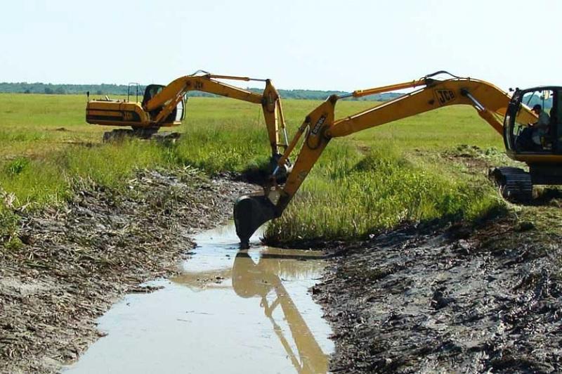 Осушить болота вокруг Петропавловска предложил аким СКО