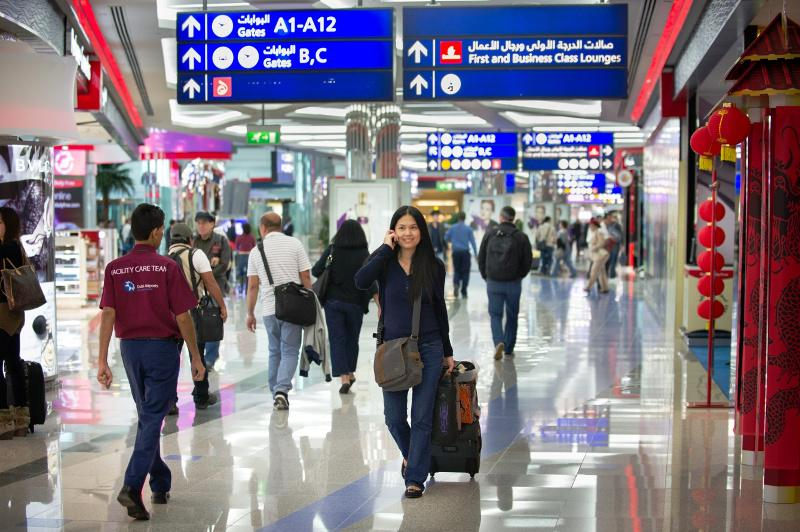 Dubai Airport busiest for international traffic for 6th year running