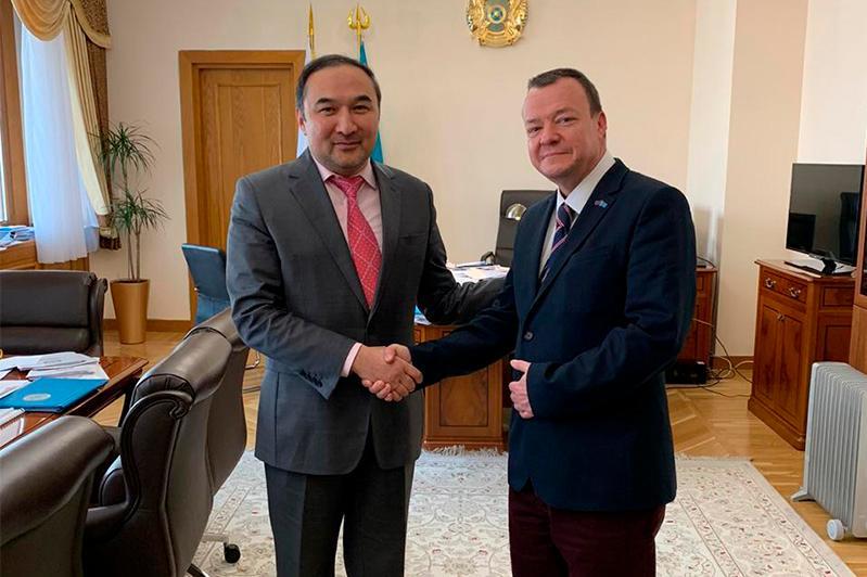Посольство Великобритании в РК заинтересовано в реализации проектов цифровой культуры в Алматы