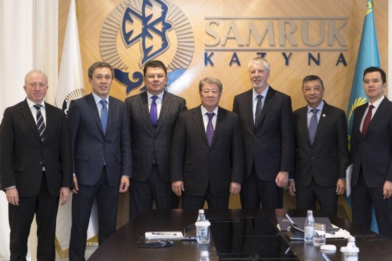 Избран председатель Совета директоров «Самрук-Қазына»