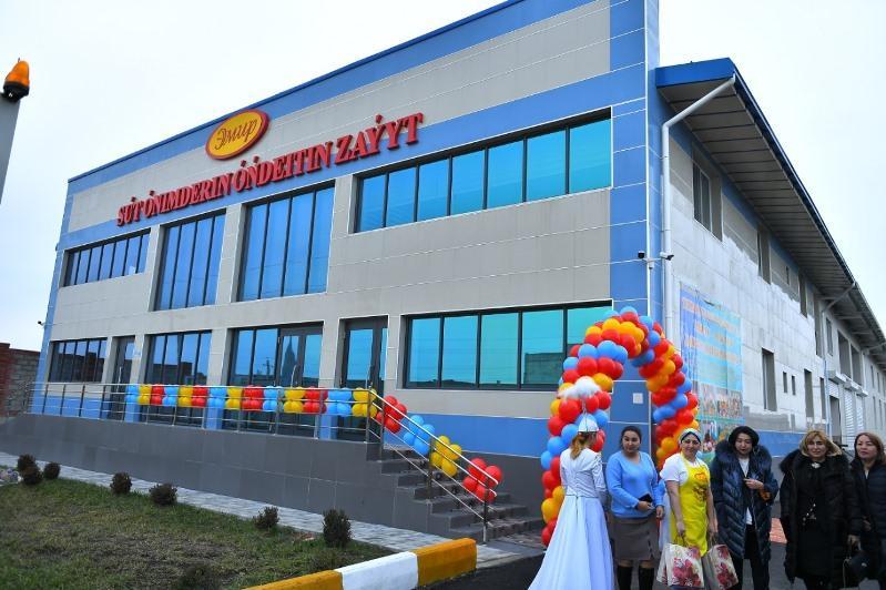 Dairy plant commissioned in Turkestan region