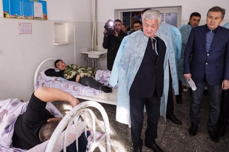 Правительственная комиссия прибыла в Кордайский район