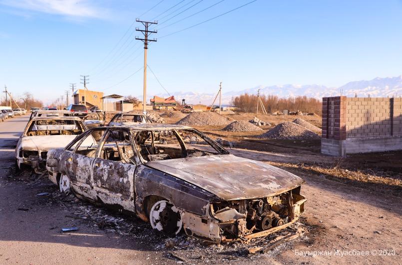 События в Кордайском районе начались с конфликта на дороге — МВД