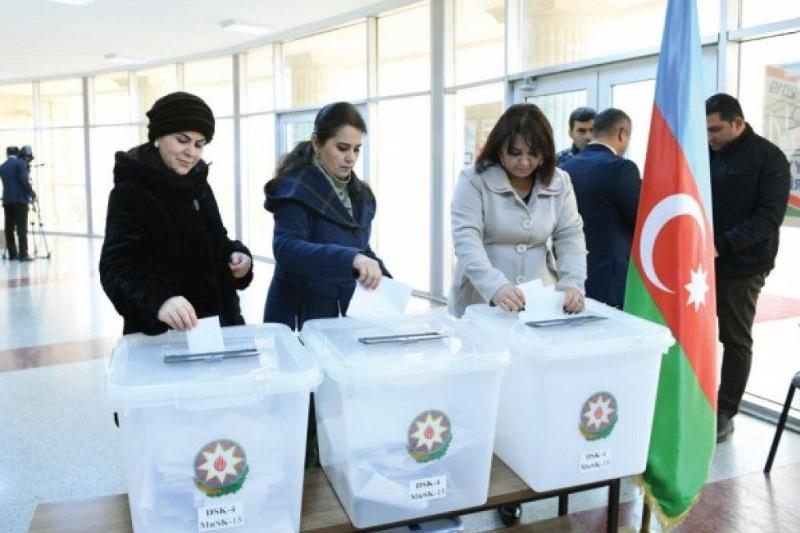 Әзербайжанда Парламент сайлауында дауыс беру аяқталды