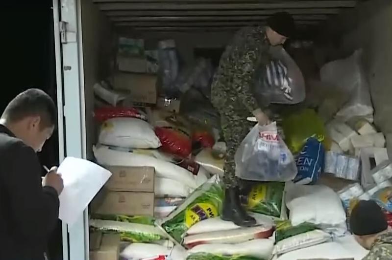 Поступила первая гуманитарная помощь для пострадавших в Кордайском районе Жамбылской области