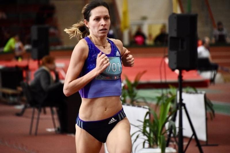 Казахстанка Татьяна Нерознак завоевала две медали открытого Кубка Беларуси по легкой атлетике