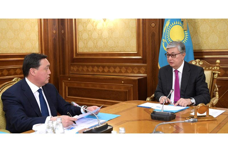 ҚР Президенти Бош вазирни қабул қилди