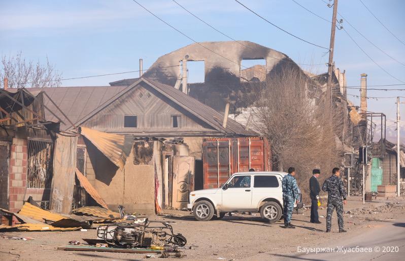 Бердибек Сапарбаев рассказал о ситуации в Кордайском районе Жамбылской области