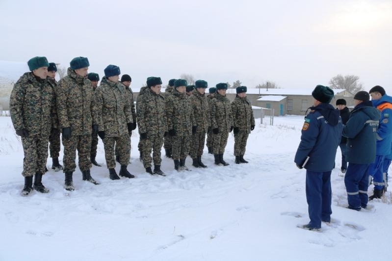 Қарағандылық құтқарушылар әскери қызметшілер үшін оқу-әдістемелік жиын өткізді
