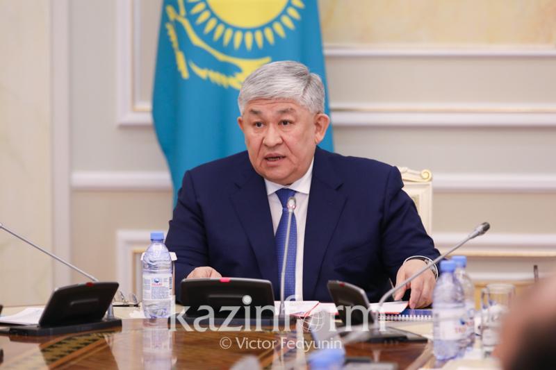Крымбек Кушербаев выразил соболезнования семьям погибших в результате событий в Кордайском районе