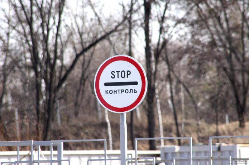 Регионы наделят правом установки дорожных знаков на въездах в пограничную зону