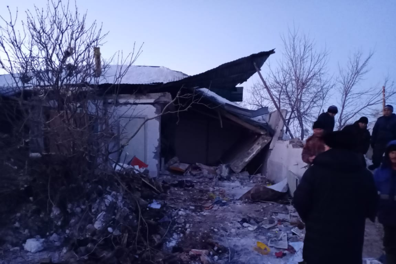 Павлодар облысында газ баллоны жарылып, ер адам мерт болды