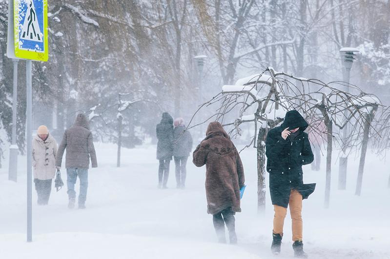 Метель, туман и гололед ожидаются в РК 14 февраля