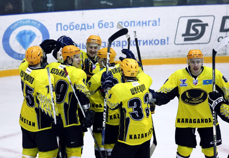 Хоккей: «Сарыарқа» плей-офф кезеңіне жолдама алды