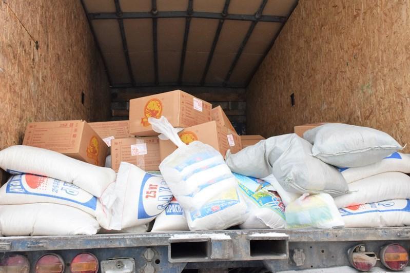 哈萨克斯坦纳民族和睦大会向江布尔州输送一批物资