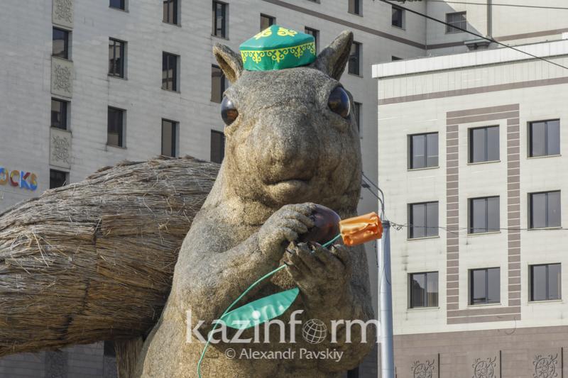 Алматыдағы тиін арт нысаны басқа жерге көшіріледі