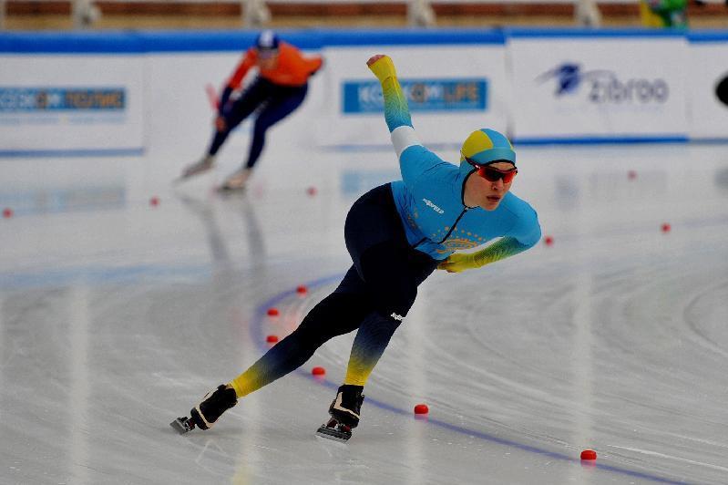 После первого дня ЧМ по конькобежному спорту Казахстан занимает шестое место