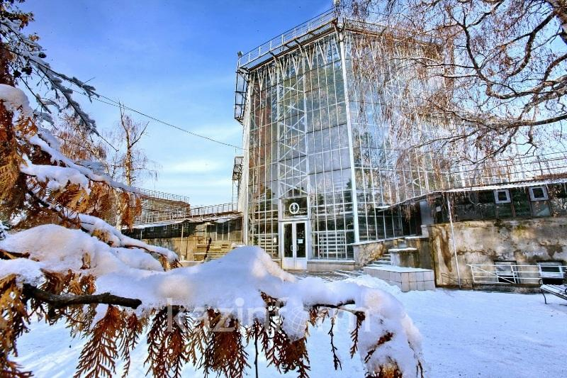 Новые входы откроют в Ботаническом саду Алматы
