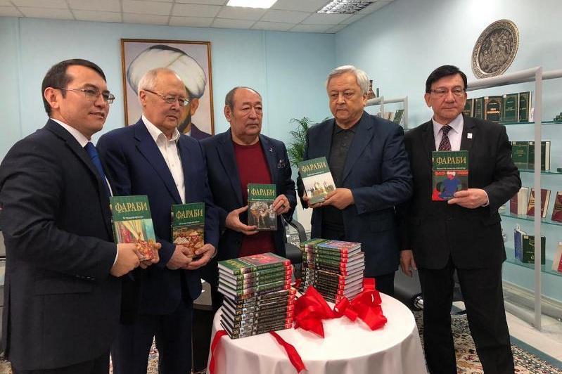 Семитомный сборник «Фараби» презентовали в Алматы
