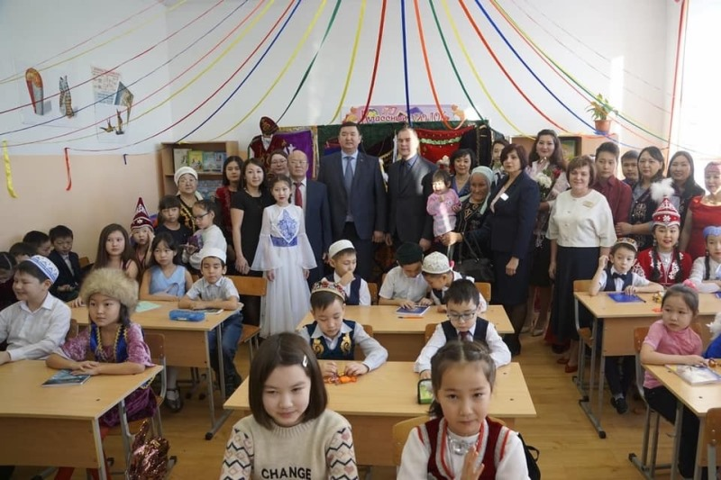 Ресейдің Есіл қаласында Абай атындағы қазақ тілі сыныбы ашылады