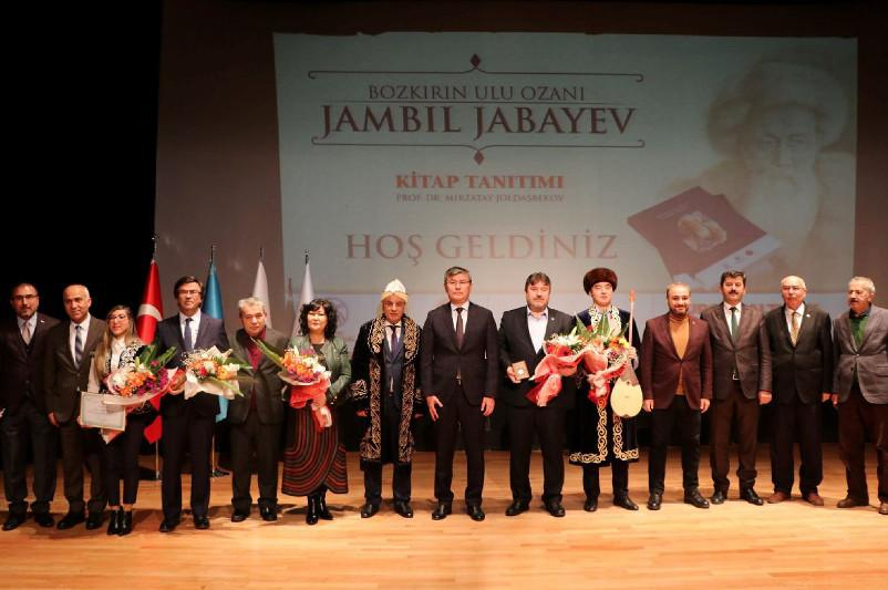 Book about Zhambyl Zhabayev in Turkish presented in Ankara