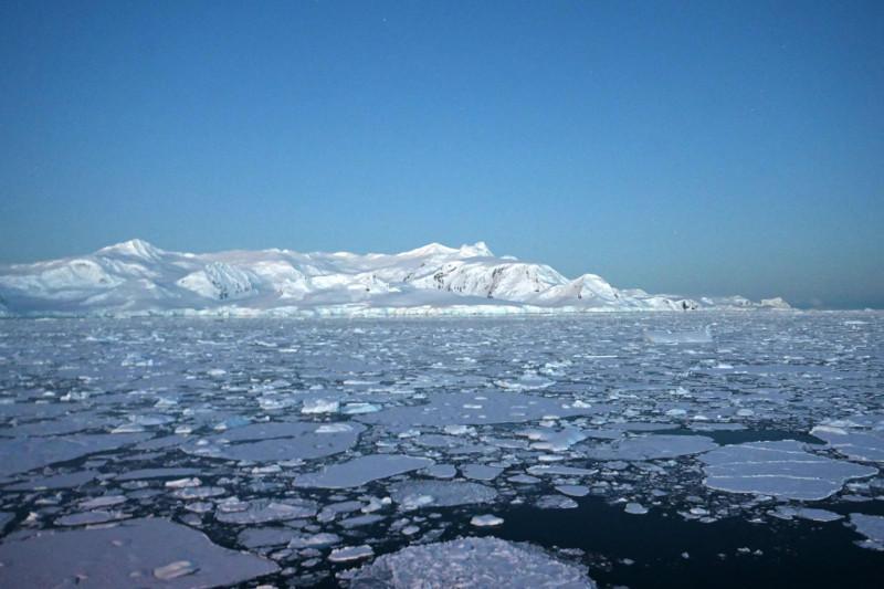 Впервые температура в Антарктике поднялась выше 20°C