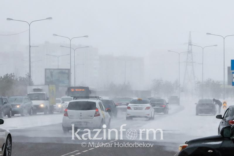 Storm alert in place across 6 rgns of Kazakhstan