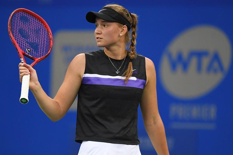 Теннис: Елена Рыбакина Санкт-Петербург турнирінің жартылай финалына шықты