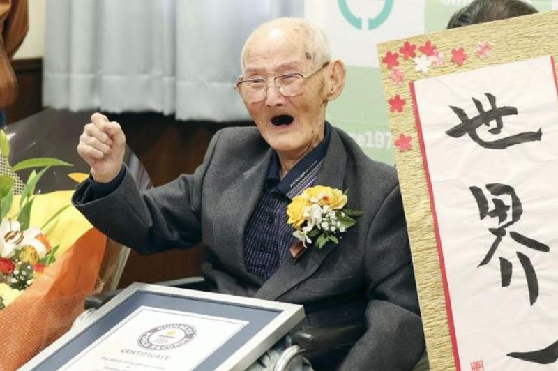 112-летний японец признан старейшим из живущих в мире мужчин