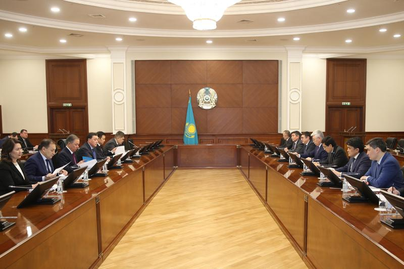Kazakh PM holds National Commission for Modernization meeting