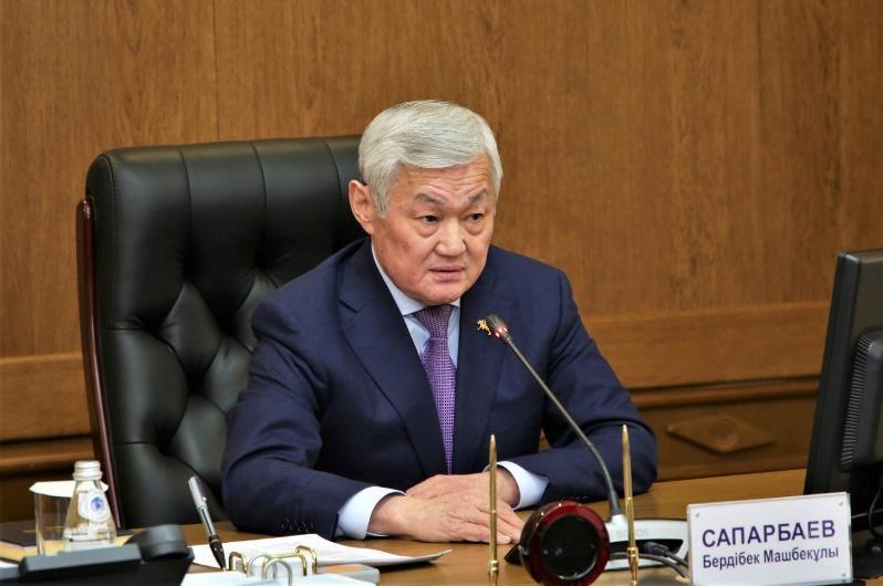 Бердибек Сапарбаев провел заседание областного штаба по ликвидации последствий ЧС