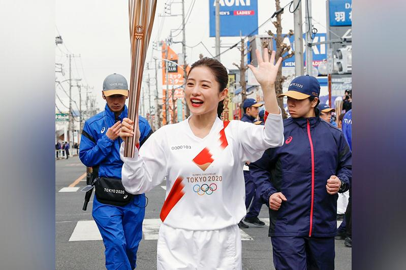 Olympics: Rehearsal of Tokyo Olympic torch relay held in Japan
