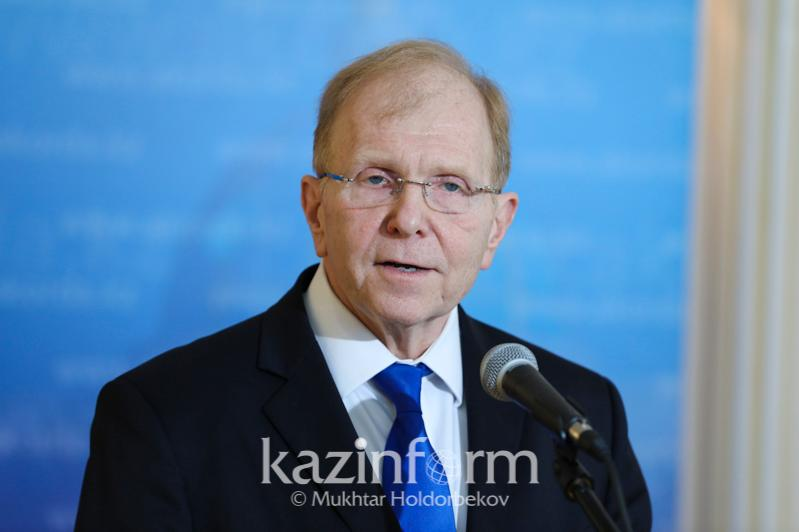 U.S. Ambassador makes statement about Kazakhstan-U.S. coop in the fight against coronavirus