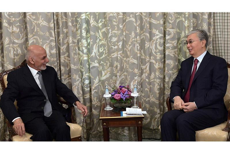 Президенты  Казахстана и Афганистана обсудили ситуацию в регионе