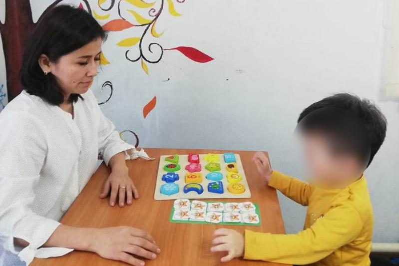 Как помогают детям-аутистам в Акмолинской области