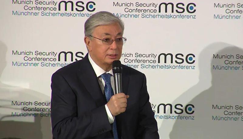 Касым-Жомарт Токаев выступил на Мюнхенской конференции по безопасности