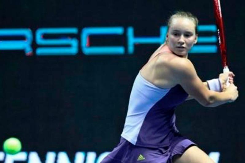 Kazakhstan's Rybakina propels into St. Petersburg Ladies Trophy final