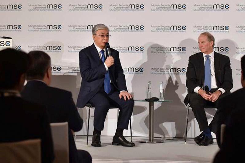 На Мюнхенской конференции обсудили сотрудничество Казахстана и США